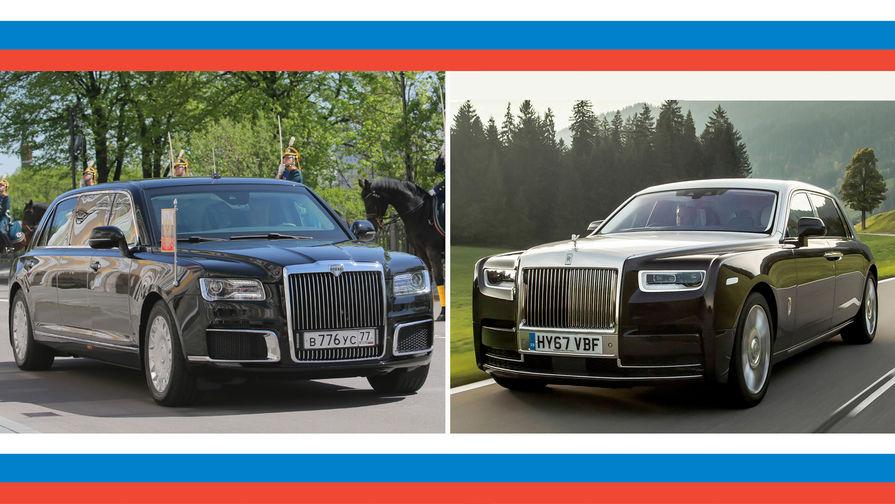 Rolls-Royce или не очень: на что похож лимузин Путина