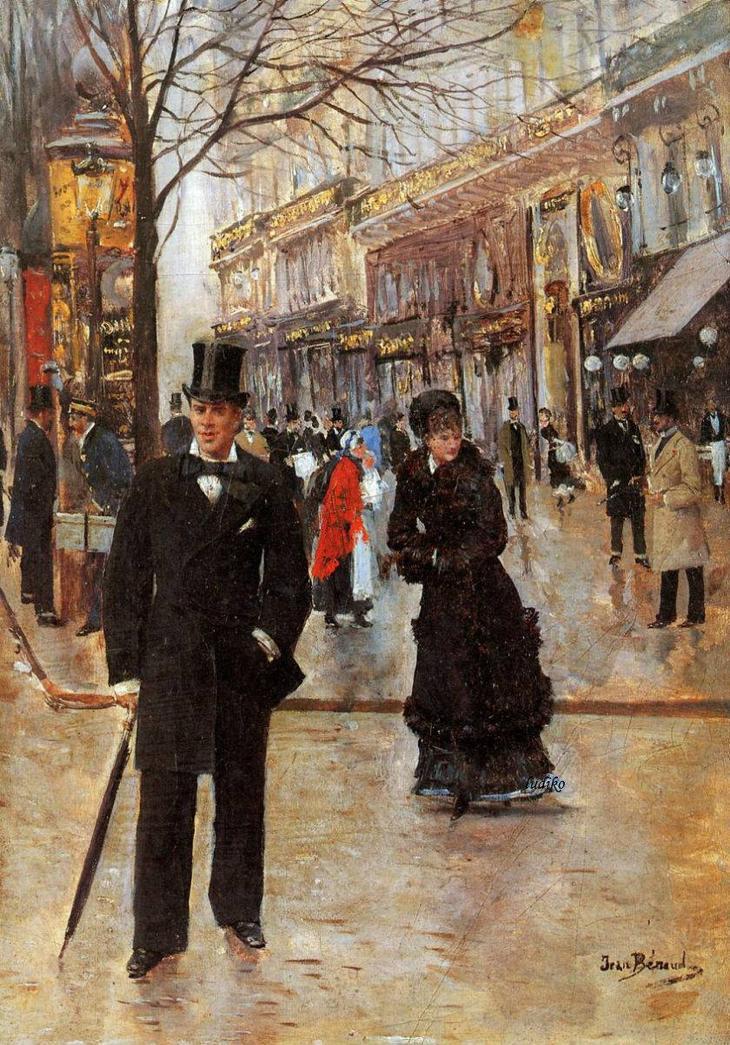 Парижская жанровая живопись