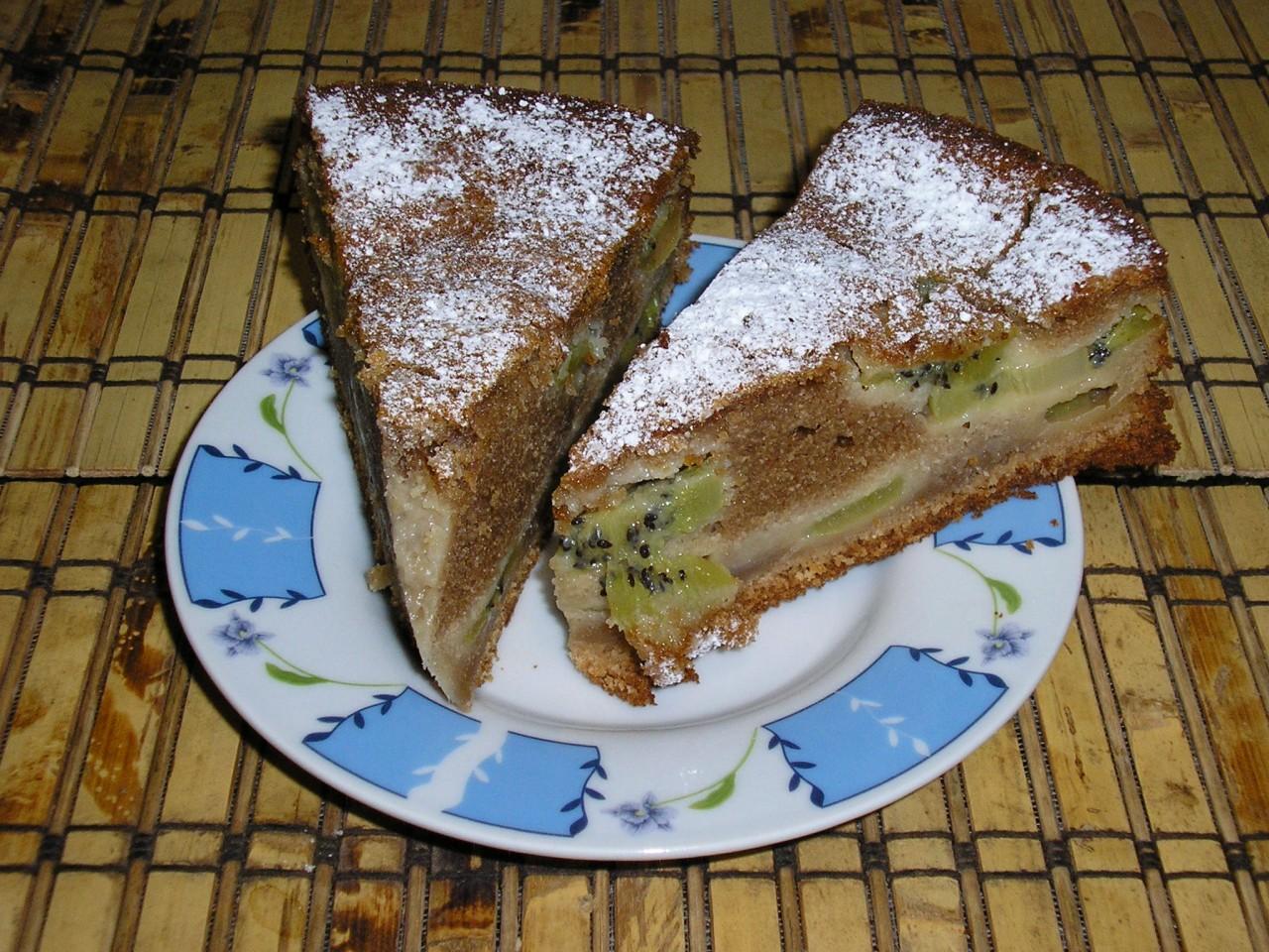 Банан киви рецепт пошагово в духовке