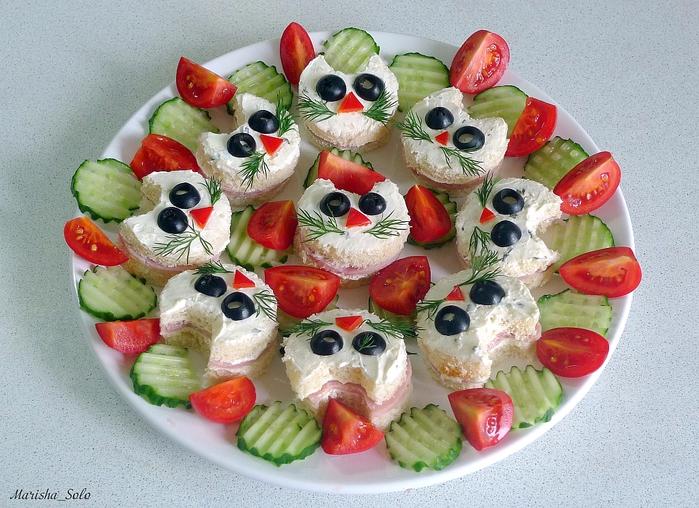 Рецепты закусок на детский праздник