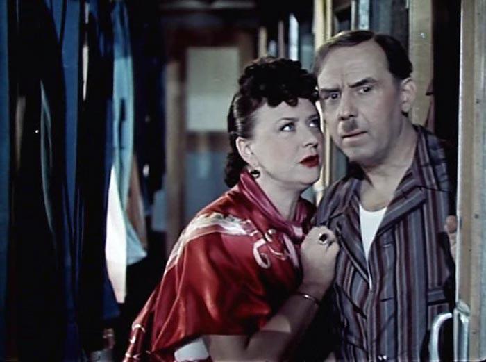 Мария Миронова в фильме «Мы с вами где-то встречались», 1954 г.