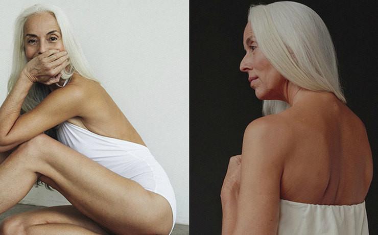 61-летняя модель Ясмина Росси снялась в рекламе купальников
