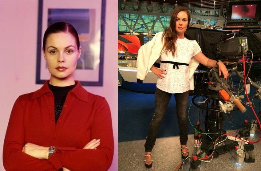 Екатерина Андреева (55 лет) люди, телеведущие, телевизор, тогда и сейчас