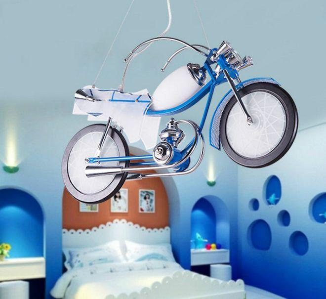 люстра мотоцикл в детскую