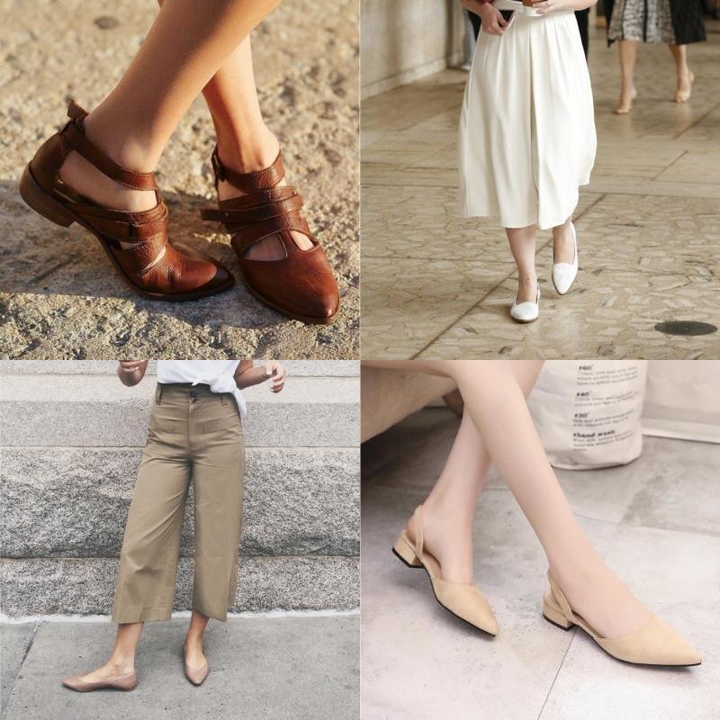 модная летняя обувь на танкетке
