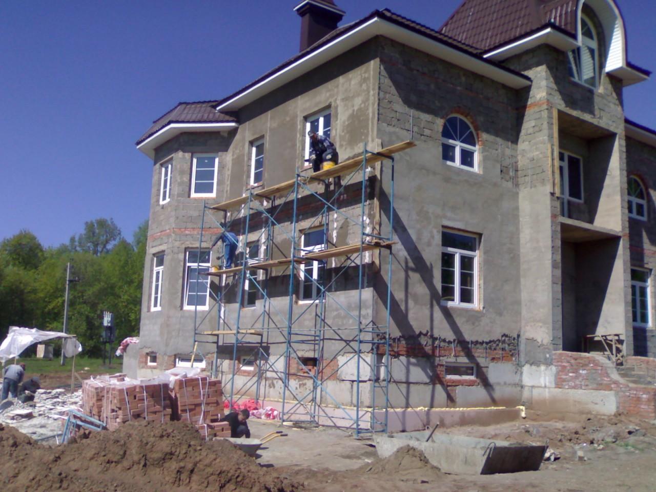 Дом из керамзитобетона своими руками - как построить 59