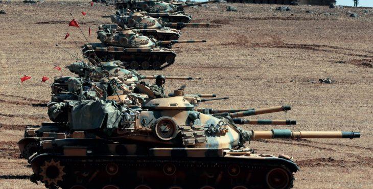 СМИ: Турецкие войска вошли в Африн
