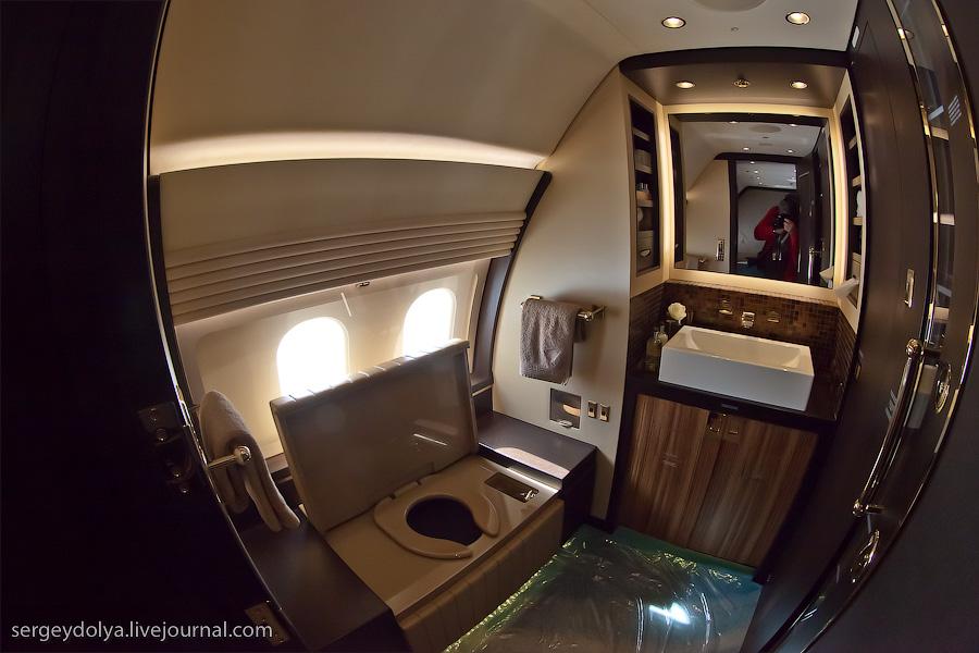 2536 Бахрейнский авиасалон: Интерьеры самолетов