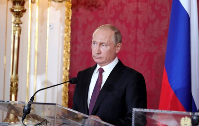 Путин рассказал о дружеской атмосфере на переговорах в Австрии