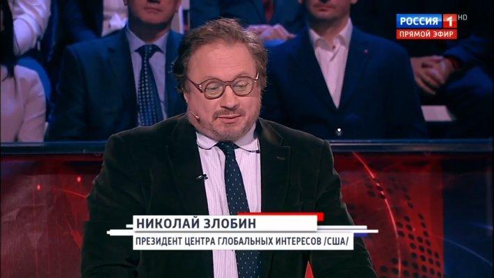 """""""Понятия """"сдаваться"""" для нас не существует"""": Соловьев объяснил эксперту из США бессмысленность давления на Россию"""