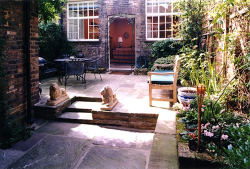 дизайн частного двора фото 11