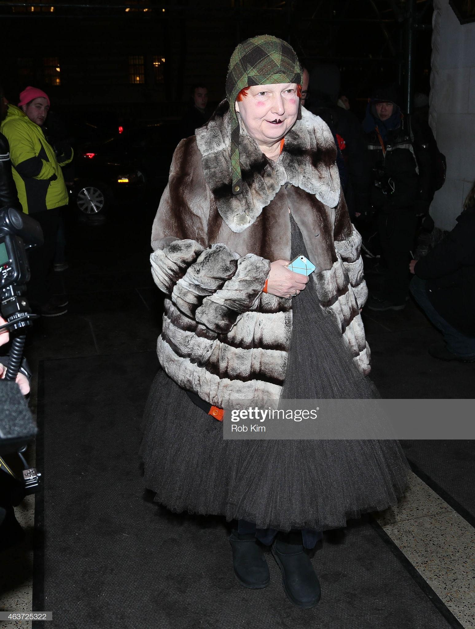 ОÑкар Де Ла Рента - За Пределами ПрибытиÑ-Mercedes-Benz Fashion Week ОÑень 2015: ÐовоÑти Фото