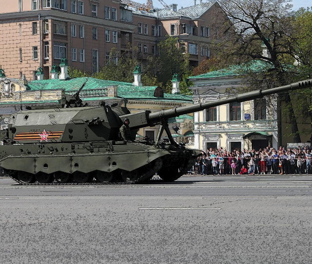 Мощная российская «Коалиция-СВ» с легкостью справится с польским «Крабом»