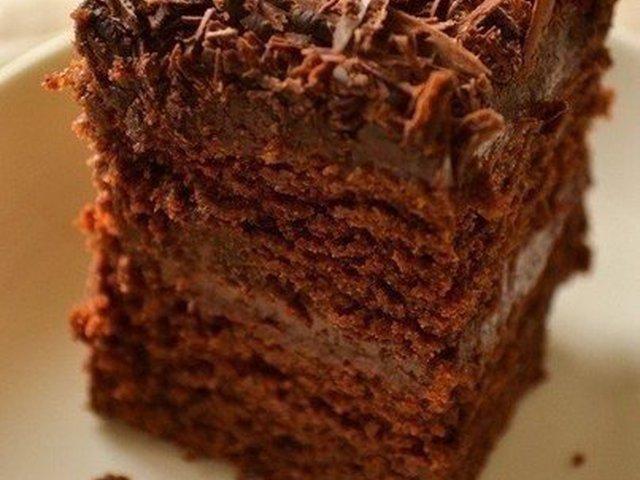 Торт без единого яйца: Супер-влажный и нежный шоколадный пирог
