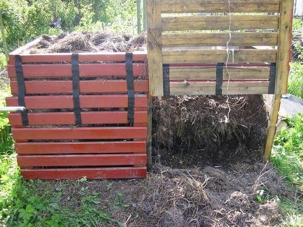 Ящик для компоста на даче