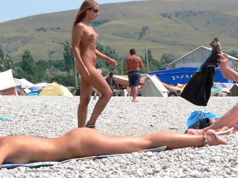 нудистский пляж частное фото