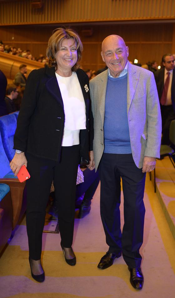 Надежда Соловьева и Владимир Познер