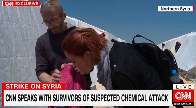 В поисках доказательств: бесстрашная журналист CNN обнюхала «жертв химатаки» в Думе