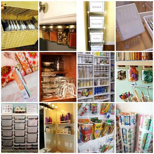 Идеи хранения и организации пространства