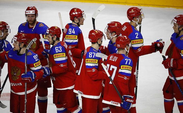чм по хоккею словакия россия