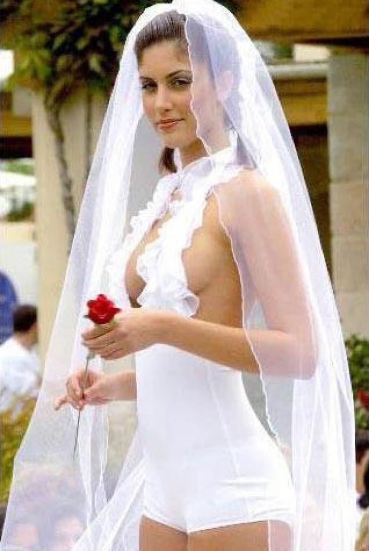 Эротические свадебные платья 6 фотография