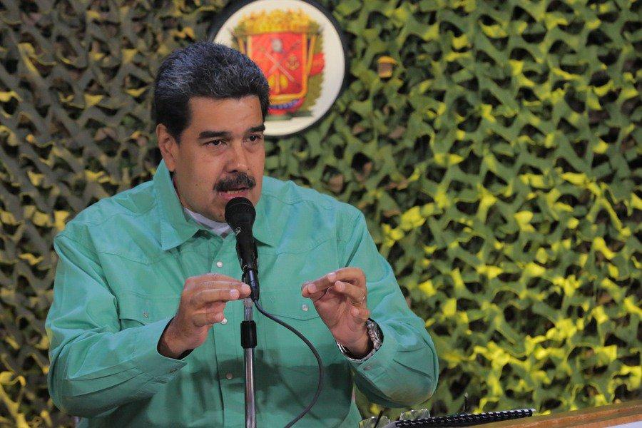 Мадуро приказал стянуть войс…