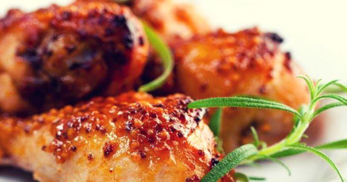 Нежный цыпленок под медовым соусом.  Фото: scastje-est.ru.