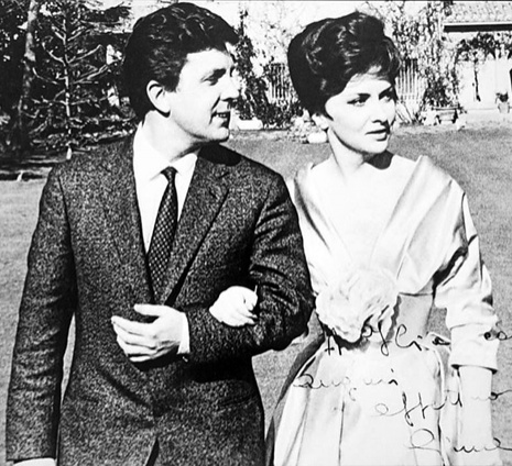 С Джиной Лоллобриджидой в Риме, 1963 год. «Она необычайной красоты была: и внешней, и духовной, и внутренней...»