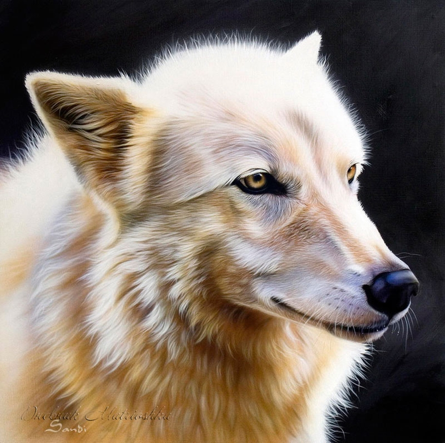 Awesome realistic drawings of animals 20
