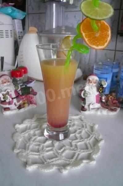 Безалкогольные коктейли. Витаминный коктейль