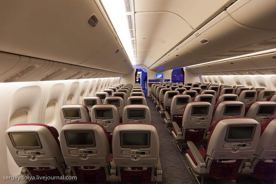 8112 Бахрейнский авиасалон: Интерьеры самолетов