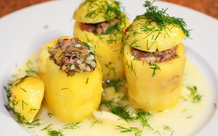 Самые простые блюда из картошки