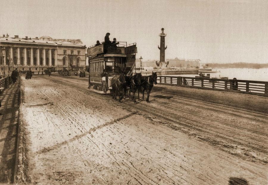 Транспорт Санкт-Петербурга начала ХХ века