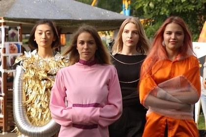 В Томске прошел модный показ смирительных рубашек