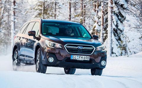 Обновленный Subaru Outback — тест-драйв