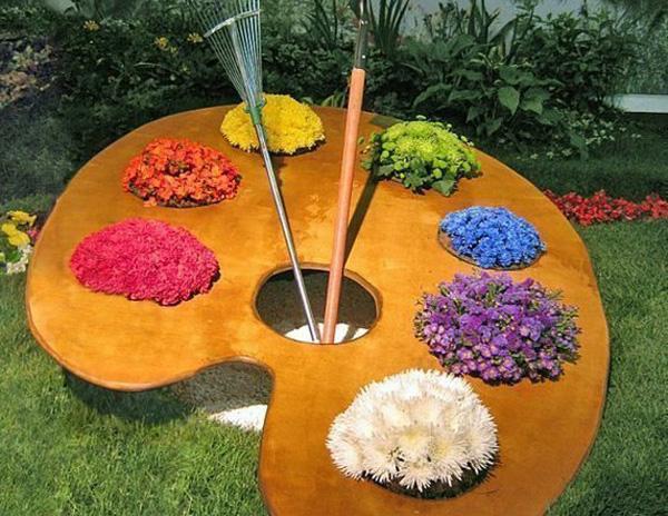 Идеи для цветников