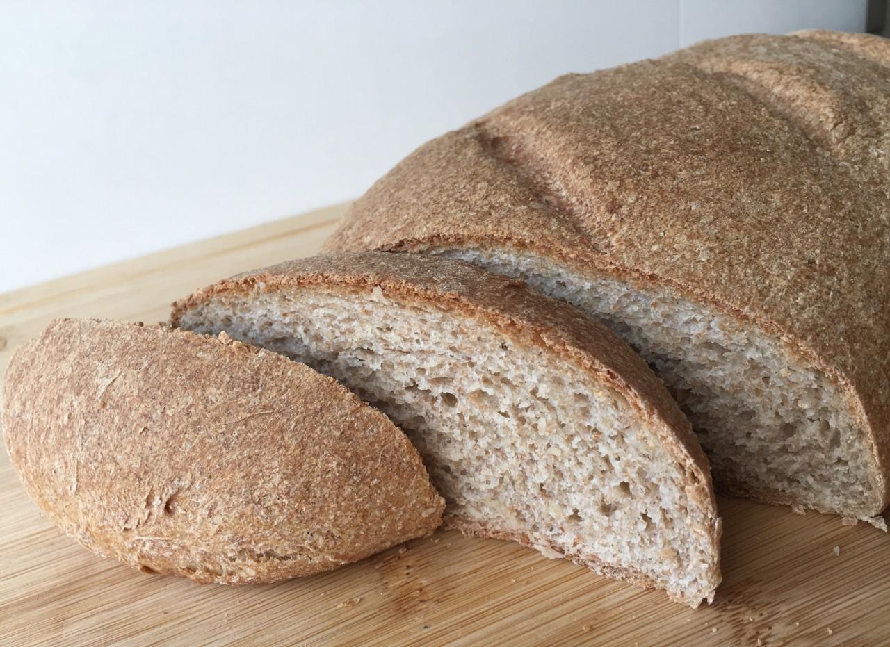 ПОХВАСТУШКИ. Пшенично-ржаной хлеб с отрубями