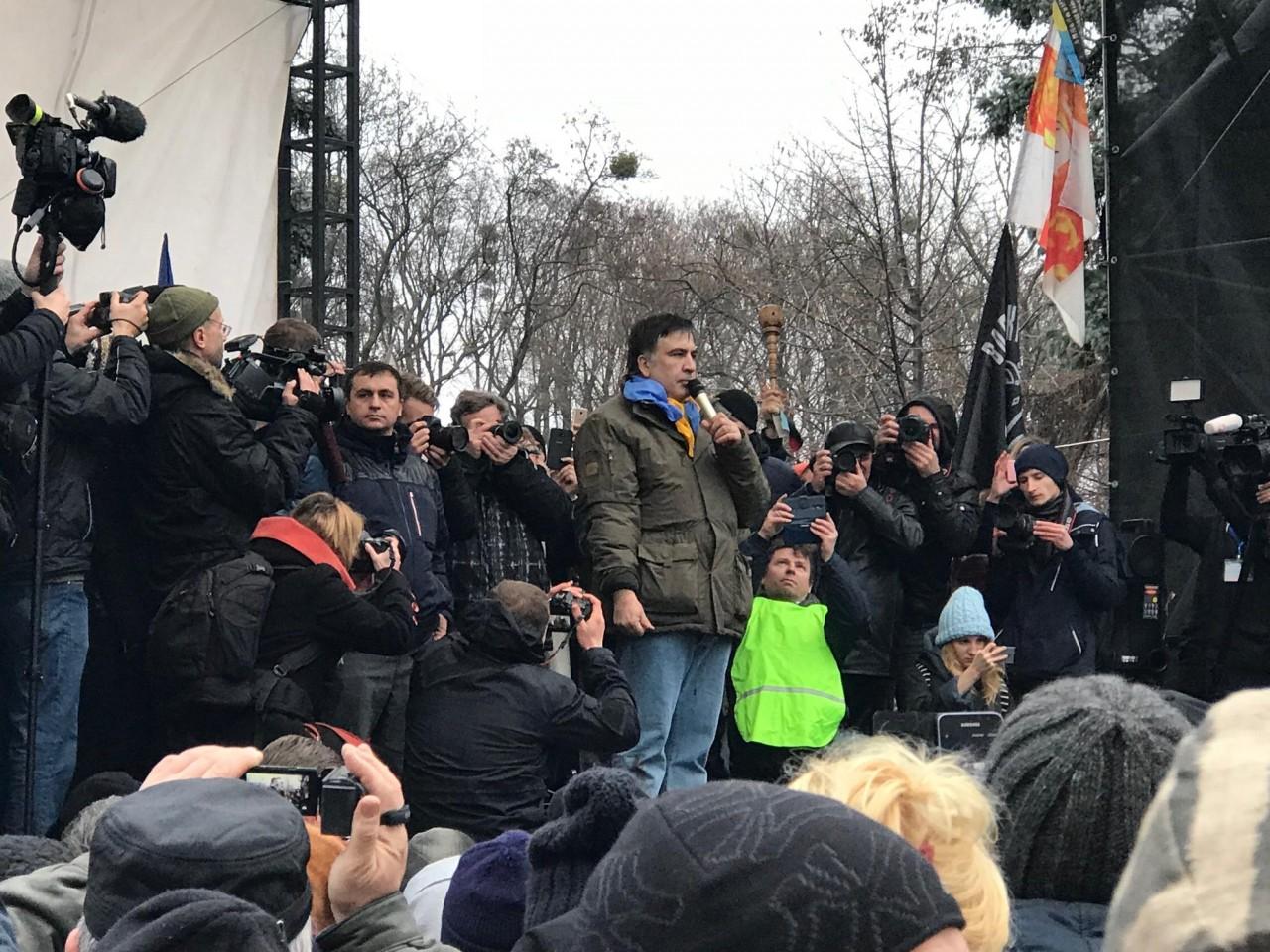 """Грузинский ад в Киеве: операция """"Русская зима"""""""