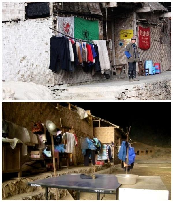 Предприимчивые жители умудрились открыть свой магазинчик (Чжундун, Китай).   Фото: youtube.com.