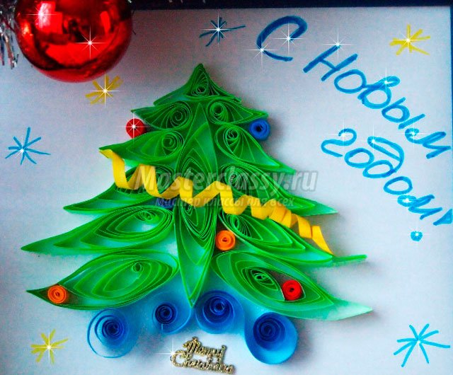 Мастер класс к новому году 2015 для детей