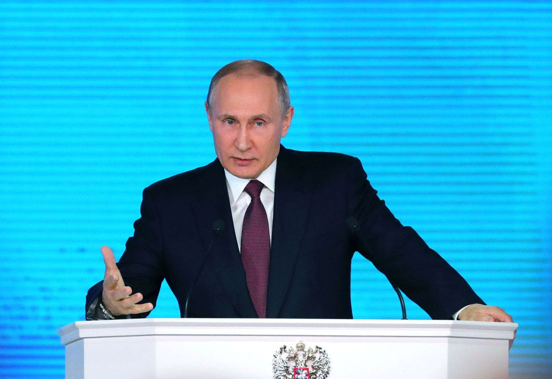 Владимир Путин всё моменталь…