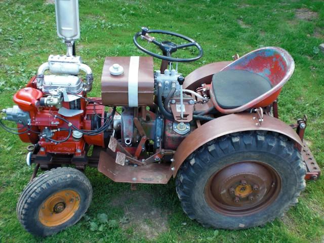 Самодельный трактор i