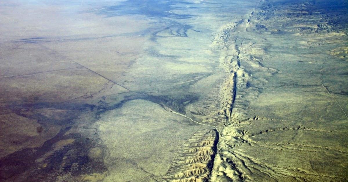 СРОЧНО! Масштабное движение земной коры происходит вдоль разлома Сан-Андреас