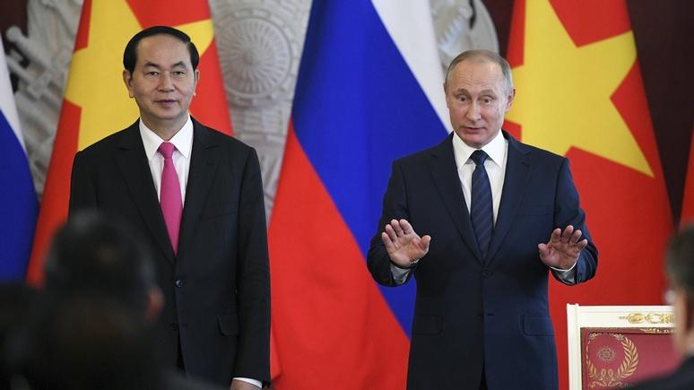 Обозреватель Forbes: Владимиру Путину нечего предложить Вьетнаму