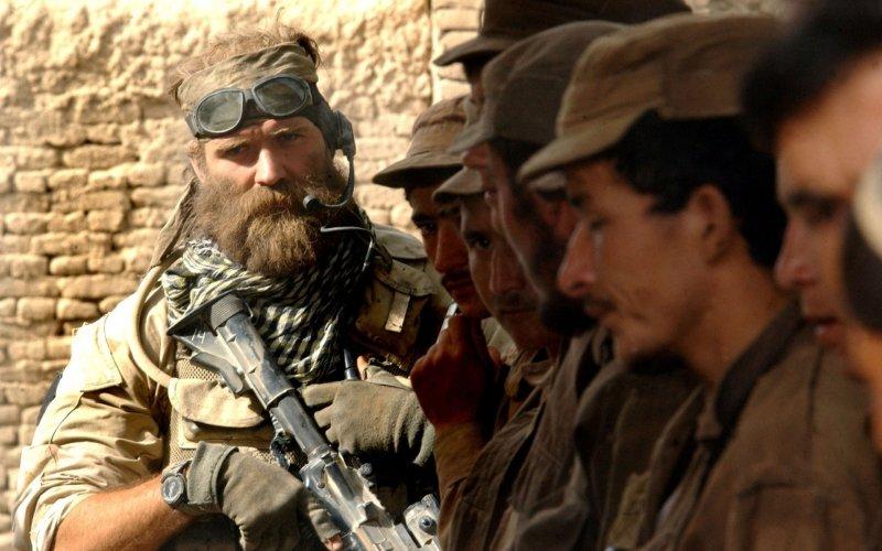 Борода в Армии