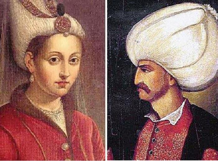 Роксолана и Сулейман I Великолепный.