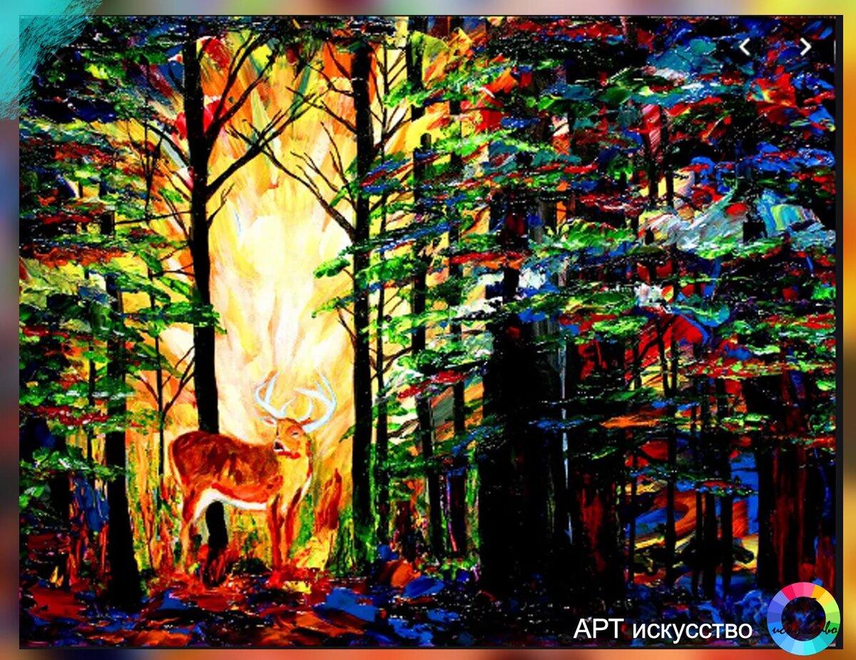 Джон Брамблетт рисует картины будучи слепым. Такое возможно