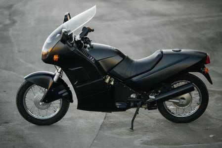 Первый советский мотоцикл с …