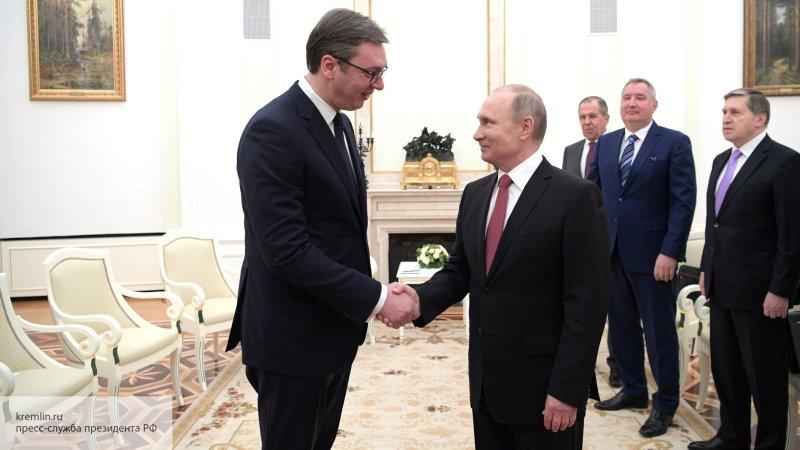 «Вучич – за Россию»: Миронов…