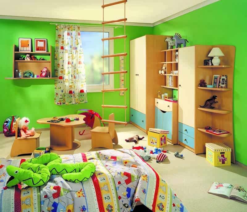 Как красиво обустроить детскую комнату своими руками